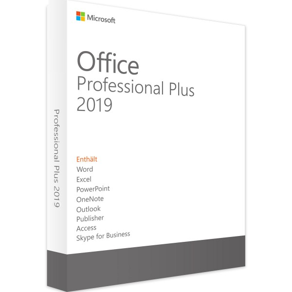 Microsoft Office 2019 Professional Plus Vollversion Key Download