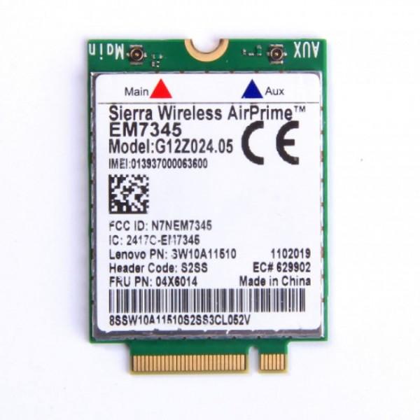 4G LTE Modul Sierra AirPrime EM7345 X1 Carbon X240 T440s T440p